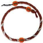 GameWear Oklahoma State University Classic Spiral Football Necklace