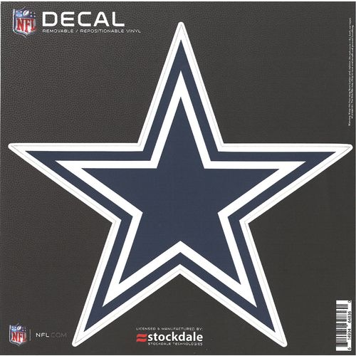 "Display product reviews for Stockdale Dallas Cowboys 6"" x 6"" Decal"