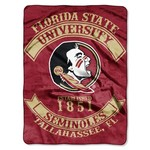The Northwest Company Florida State University Rebel Raschel Throw