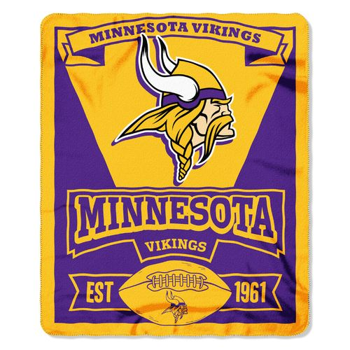 The Northwest Company Minnesota Vikings Marquee Fleece Throw