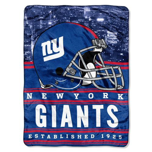 The Northwest Company New York Giants Stacked Silk Touch Throw