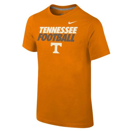 Nike™ Boys' University of Tennessee Locker Room Cotton Practice T-shirt
