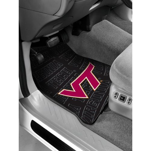 The Northwest Company Virginia Tech Car Floor Mats 2-Pack