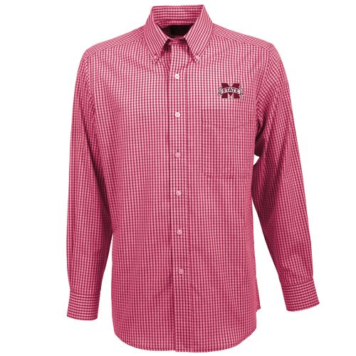 Antigua Men's Mississippi State University Associate Button-Down Shirt