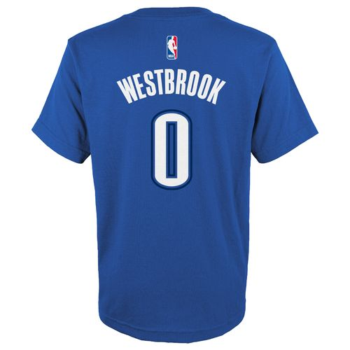 NBA Boys' Oklahoma City Thunder Russell Westbrook Flat Player T-shirt