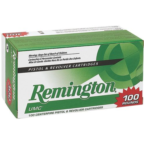 Remington UMC 9mm 115-Grain Centerfire Handgun Ammunition