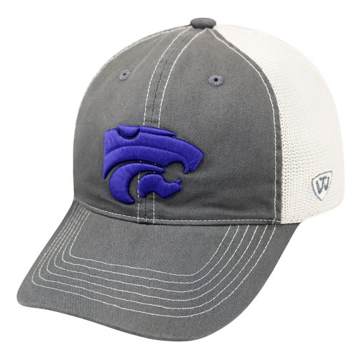 Top of the World Adults' Kansas State University Putty Cap