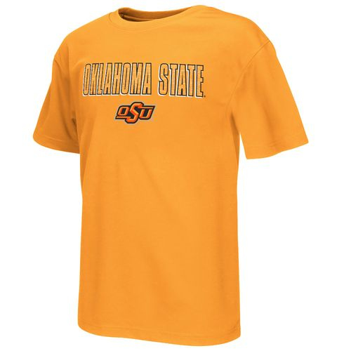Colosseum Athletics™ Boys' Oklahoma State University Circuit Board T-shirt - view number 1