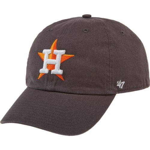'47 Adults' Houston Astros Basic Logo Clean Up Cap