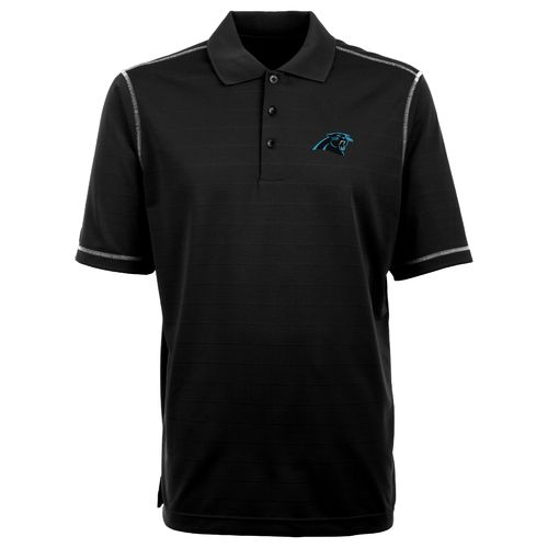 Antigua Men's Carolina Panthers Icon Polo Shirt - view number 1