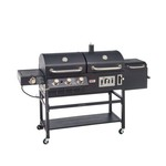 Outdoor Gourmet Triton Classic Gas/Charcoal Grill and Smoker Box - view number 1