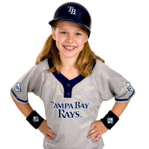 Franklin Kids' Tampa Bay Rays Uniform Set - view number 2