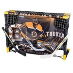 Franklin Boston Bruins Tuukka Rask Mini Hockey Goal and Target Set