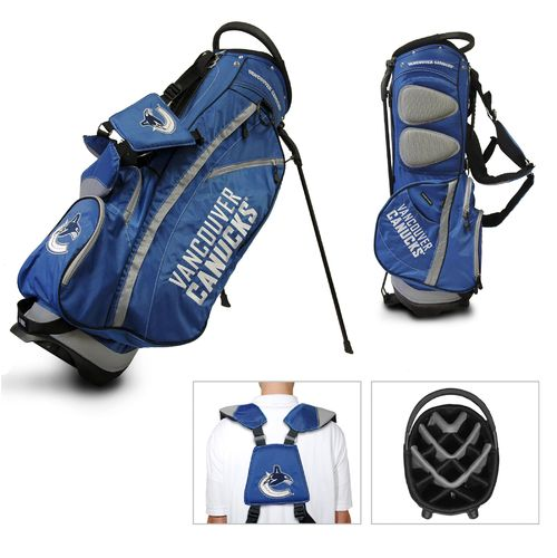 Team Golf Vancouver Canucks Fairway 14-Way Stand Golf