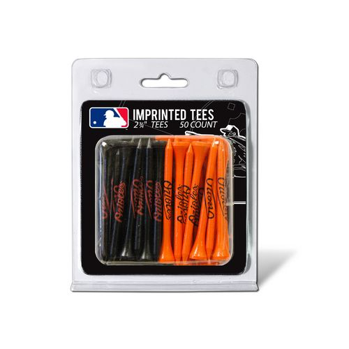 Team Golf Baltimore Orioles Golf Tees 50-Pack