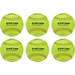 "Worth® 12"" Recreational Softballs 6-Pack"