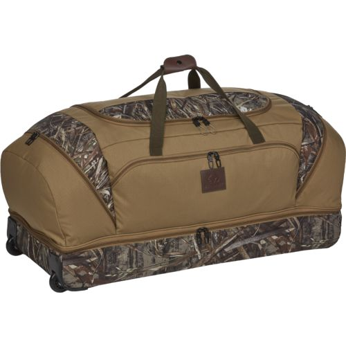 "Realtree Adventure 36"" Wheeled Drop Bottom Duffel Bag"
