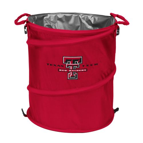 Logo™ Texas Tech University Collapsible 3-in-1 Cooler/Hamper/Wastebasket