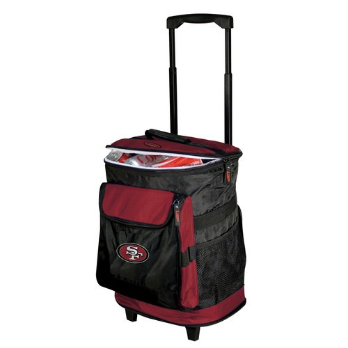 Logo™ San Francisco 49ers Rolling Cooler - view number 1