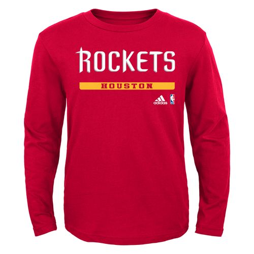 NBA Boys' Houston Rockets Cut and Paste Long Sleeve T-shirt