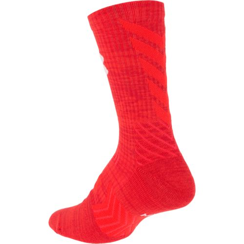 Under Armour Men's Undeniable Twisted Mid Crew Socks