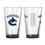 Boelter Brands Vancouver Canucks Elite 16 oz. Pint Glasses 2-Pack