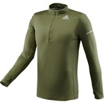 adidas™ Men's Sequencials CC Money Half Zip Long Sleeve Shirt