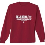 New World Graphics Men's University of Oklahoma CFP Straight Across T-shirt