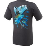 Guy Harvey Men's Blues and Blacks T-shirt