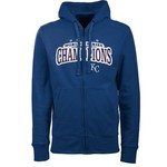 Antigua Men's Kansas City Royals World Series Champs Signature Full Zip Hoodie
