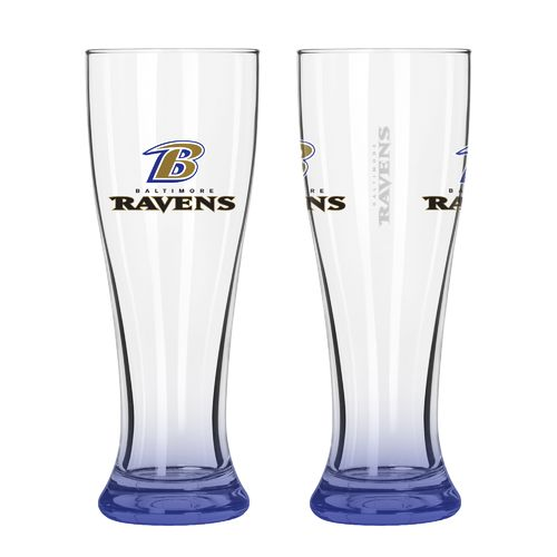 Boelter Brands Baltimore Ravens Elite 16 oz. Pilsners 2-Pack