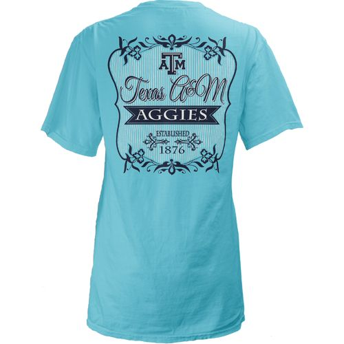 Three Squared Juniors' Texas A&M University Flora T-shirt
