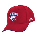 adidas™ Kids' FC Dallas Basic Structured Adjustable Cap