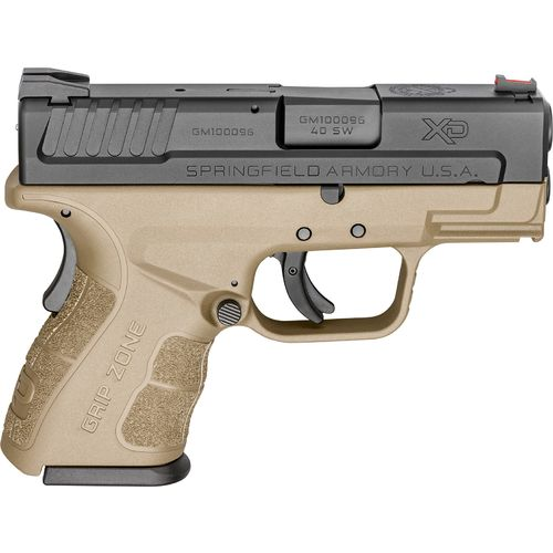 """Display product reviews for Springfield Armory® XD® MOD.2™ .40 S&W 3"""" Subcompact Pistol"""