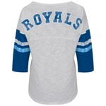 G-III for Her Women's Kansas City Royals Extra Point Top