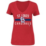 Majestic Women's St. Louis Cardinals One Game at a Time T-shirt
