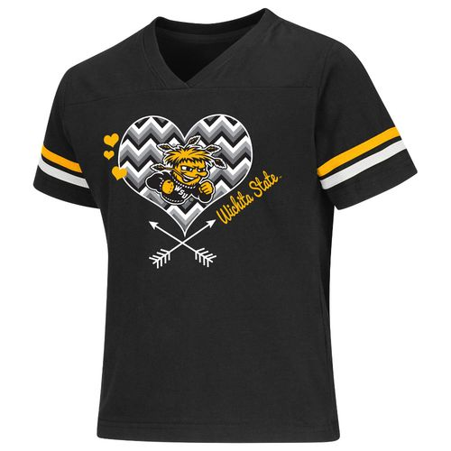 Colosseum Athletics Girls' Wichita State University Football Fan T-shirt