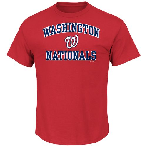 Majestic Men's Washington Nationals Heart and Soul T-shirt