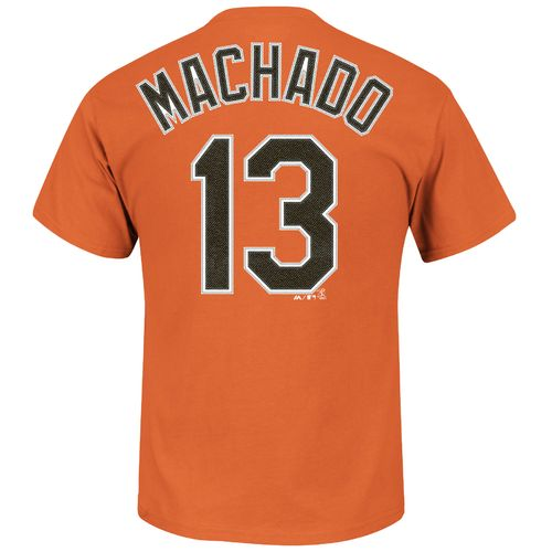 Majestic Men's Baltimore Orioles Manny Machado #13 T-shirt