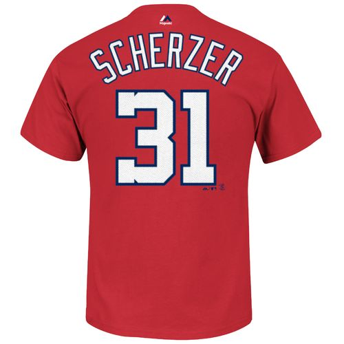 Majestic Men's Washington Nationals Max Scherzer #31 T-shirt