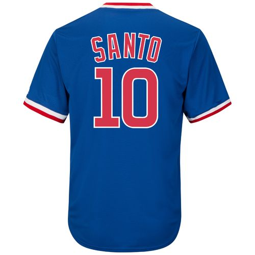 Majestic Men's Chicago Cubs Ron Santo #10 Cooperstown