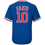 Majestic Men's Chicago Cubs Ron Santo #10 Cooperstown Cool Base 1968-69 Replica Jersey - view number 1