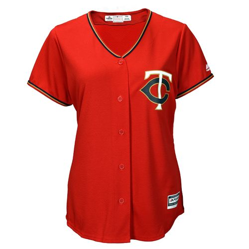 Majestic Women's Minnesota Twins Cool Base Replica Jersey - view number 1