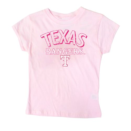 Stitches™ Girls' Texas Rangers CatcHER T-shirt