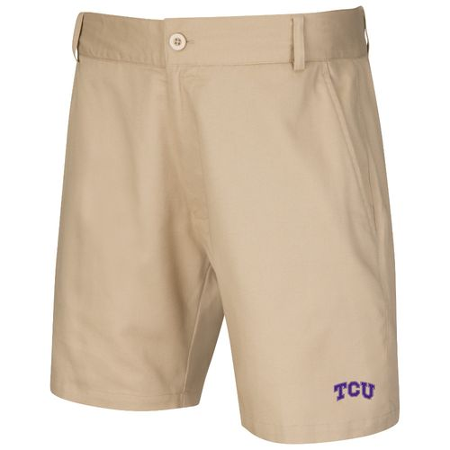 Colosseum Athletics™ Men's Texas Christian University Chiliwear Khaki Short