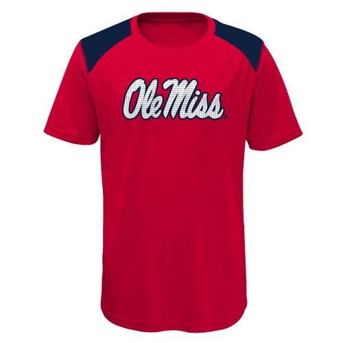 Gen2 Boys' University of Mississippi Ellipse Performance Top