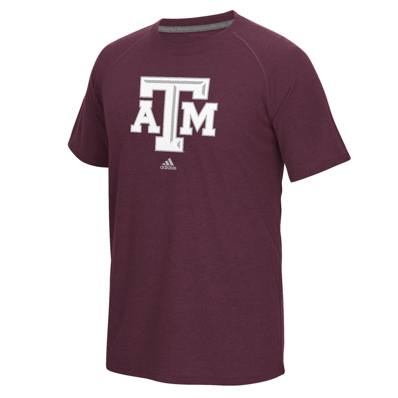 adidas™ Men's Texas A&M University Logo Ultimate T-shirt