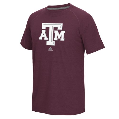 adidas™ Men's Texas A&M University Logo Ultimate T-shirt