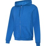 Hanes Men's ComfortSoft EcoSmart Full Zip Fleece Hoodie
