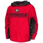 Colosseum Athletics™ Juniors' University of Georgia Sleet Pullover Hoodie